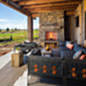 Dovetail Construction Outdoor Living Area Bozeman MT