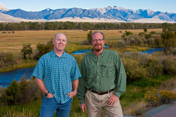 Keving Sullivan and Time Rote, Dovetail Construction Owners